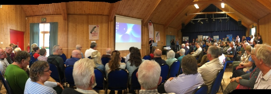 The Audience At Hen Harrier Day Highland